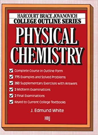 Physical Chemistry (HARCOURT BRACE JOVANOVICH COLLEGE