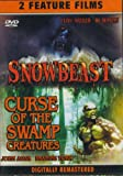 [DVD] Double Feature: Snowbeast (1977) Curse Of The Swamp Creature (1966)