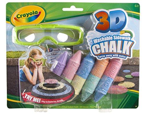 Crayola 3-D Chalk (Sidewalk Chalk 3d)