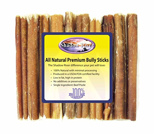 10 pack 6 inch thick all natural premium beef bully sticks. Black Bedroom Furniture Sets. Home Design Ideas