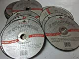~ 25~3'' x 1/16 thick x 3/8 AIR METAL CUT OFF WHEEL CUTTING DISC 25,000 RPM