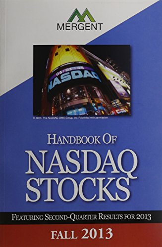 Mergents Handbook Of Nasdaq Stocks  Fall 2013