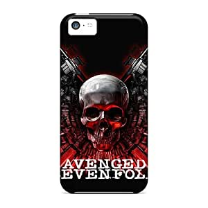 Hard Plastic Iphone 5c Cases Back Covers,hot Avenged Sevenfold Cases At Perfect Customized
