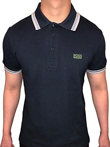Hugo+Boss+Piqu%C3%A9+Men%27s+Paddy+Polo+Shirt+%28Black%2C+Medium%29