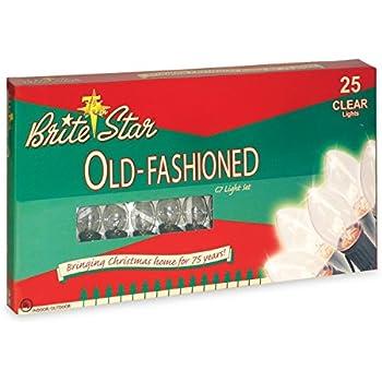 Amazon Com Brite Star 25 Count Ceramic C7 Old Fashioned