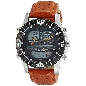 Fastrack Analog-Digital Black Dial Men's Watch-NL38035SL04