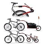 Peruzzo Kid's Trail Angel Cycle Trailgator - Red