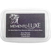 Tsukineko Memento Luxe Mixed Media Inkpad, Gray Flannel