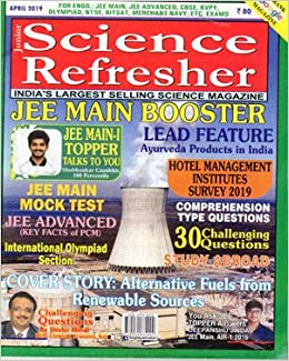 Amazon in: Buy Science Refresher India Magazine April 2019