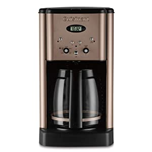 Cuisinart DCC-1200 Brew Central 12 Cup Programmable Coffeemaker, Umber