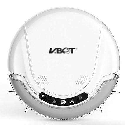 Robot de Barrido Aspirador Inteligente automático para el hogar Barredora eléctrica Ultrafina Máquina de humedales Servicio