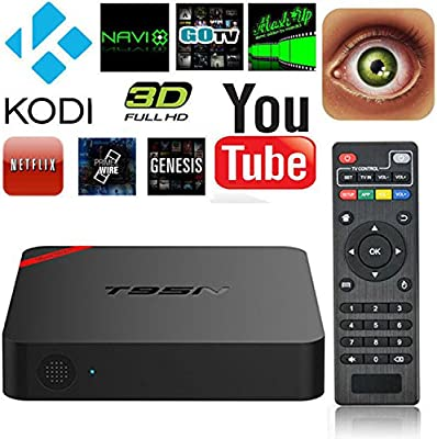 dreamw orldeu Bluetooth 4.0 Smart TV Box Android 5.1 t95 N de mini MX + Reproductor Multimedia con 2.4 GHz WiFi completamente beladen Amlogic s905 Smart TV Box Kodi XBMC WiFi 1