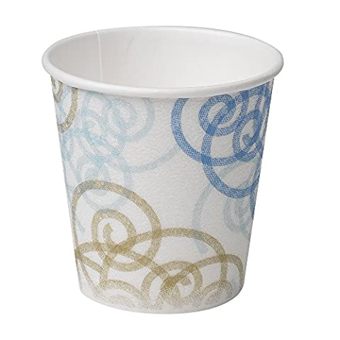 Dixie PerfecTouch 5310WM Insulated Paper Hot or Cold Cup, Whimsy Design, 10 oz (Case of 20 Sleeves, 50 cups per - 10 Ounce Styrofoam Cups