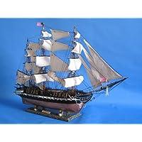USS Constitution Limited 50 Barco modelo alto - Ya construido No es un kit - Velero alto de madera Réplica a escala Modelo de barco Casa náutica Decoración de pared en la playa o regalo - Se vende completamente ensamblado