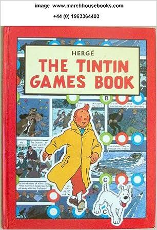 Book The Tintin Games Book
