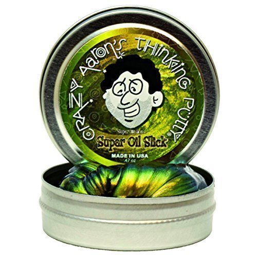 Crazy Aaron's SO003 Super Illusions 'Oil Slick' Thinking Putty Tin, 5 cm