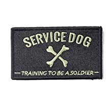 "OneTigris Tactical Patch Morale Military Patch ""Service Dog"""