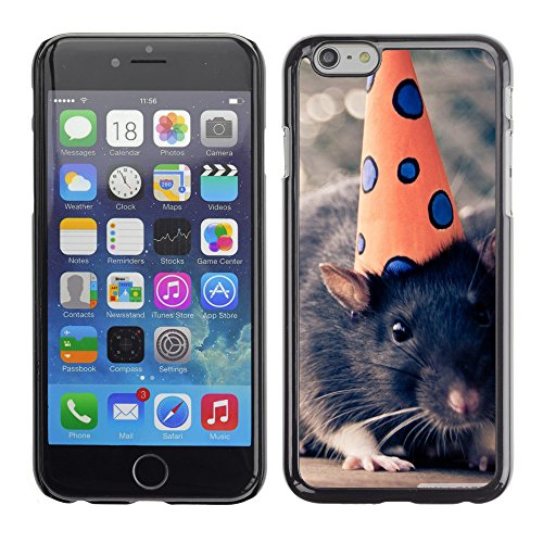 Premio Sottile Slim Cassa Custodia Case Cover Shell // V00003401 souris joyeux anniversaire // Apple iPhone 6 6S 6G 4.7""