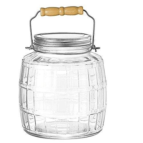 glass barrel jar - 3