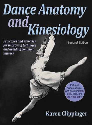 Dance Anatomy and Kinesiology-2nd Edition With Web Resource by imusti
