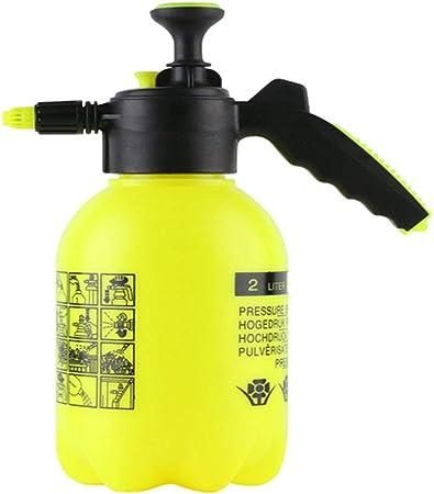 SJASD Fumigadora Pulverizador De Mano Presión con Boquilla Ajustable, Jardín Weed Killer Bomba Botella Pulverizar 2L Aspersores Pulverizador Agua para El Hogar Limpieza Insecticida Agrícola: Amazon.es: Hogar