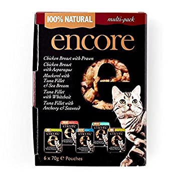 Encore - Bolso para gatos (6 unidades, 70 g, 6 unidades): Amazon.es: Productos para mascotas