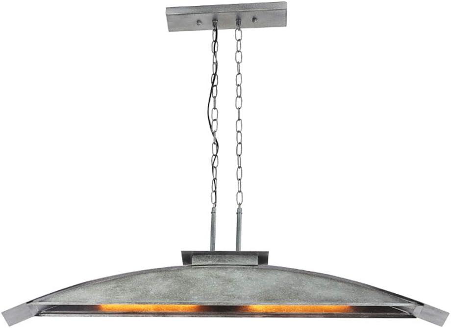FUMIMID E27 Lámpara Colgante Vintage Arco Industrial Luces De Techo Lámpara Colgante De Altura Ajustable Lámpara Metal Vidrio Sala Estar Retro Lámparas Restaurante Cafetería Iluminación Pantalla: Amazon.es: Hogar