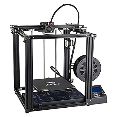 Comgrow Creality 3D Ender 5 3D Printer with Dual Y Axises and MeanWell UL Certified Power Supply