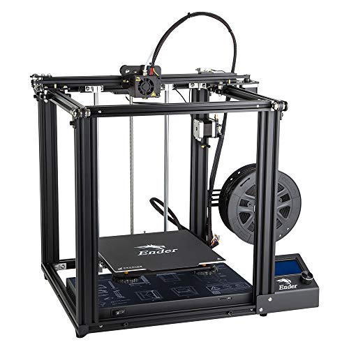 Official Authorized Creality 3D Ender 5 3D Printer with Resume Printing Function and Brand Power Supply (Best Hobby 3d Printer 2019)
