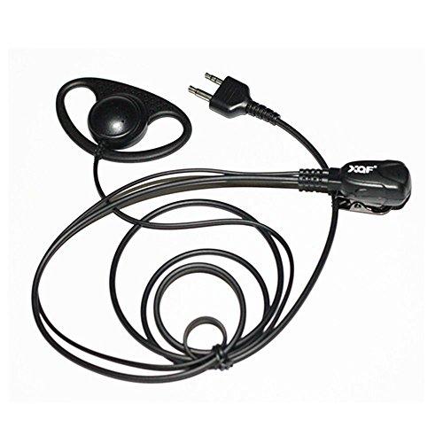 Caroo D shape Headset Earpiece for Midland LXT 600 560 535 5