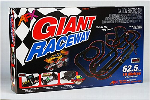 AFX Giant Set w/Lap Counter (Slot Car Track Lap Counter)