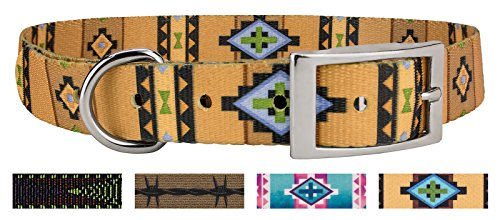 Country Brook Design | Native Southwestern Traditional Dog Collar - Medium