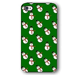 Christmas Design Pattern with Snowmen Wrapping Paper iPhone 4 and iPhone 4S Armor Phone Case