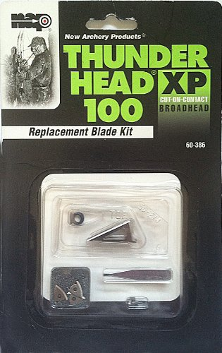 New Archery Thunderhead Xp 100 Replacement Blades