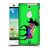 Head Case Designs Moose Neon Animal Silhouettes Protective Snap-on Hard Back Case Cover for Fujitsu Arrows NX F-01F LTE