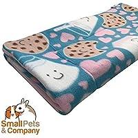 Guinea Pig Fleece Cage Liner for Midwest Habitat | Guinea Pig Bedding | Guinea Pig Fleece | Cookies and Milk
