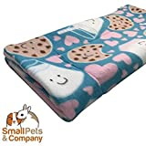 Guinea Pig Fleece Cage Liner for Midwest Habitat | Guinea Pig Bedding | Guinea Pig Fleece | Cookies and Milk