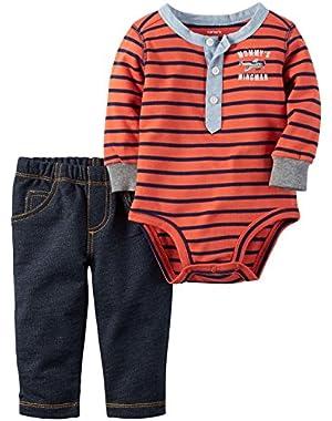 Carter's 2 Piece Stripe Set (Baby)