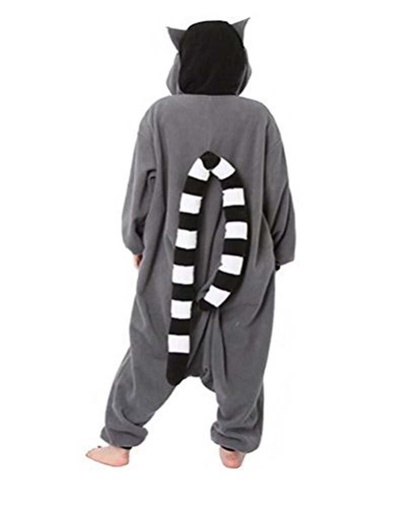 Halloween Weihnachten Ring Schwanz Lemur Tierkostüme Unisex Unisex Unisex Cosplay Pyjamas(M:160cm-169cm) d7241c