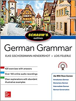 Schaum's Outline German Grammar