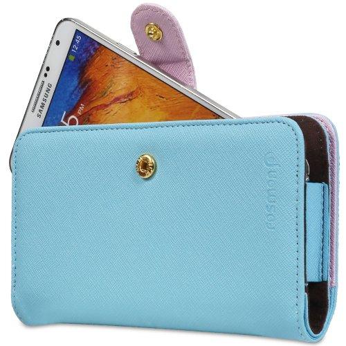 Fosmon [CADDY-IDEAL] Faux Cuir Multipurpose Portefeuille Case Cover Poche avec Carte Fente pour iPhone 8 Plus / 7 Plus, 6 / 6s Plus, Samsung Galaxy S6 Edge+, S6, 5, 3, HTC Desire 825, LG G Flex 2, One