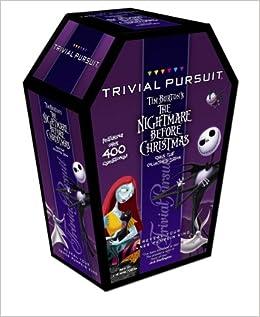 Trivial Pursuit  Tim Burton's the Nightmare Before Christmas Travel Edition  Trivial Pursuit  Tim Burton's the Nightmare Before Christmas Travel Editi