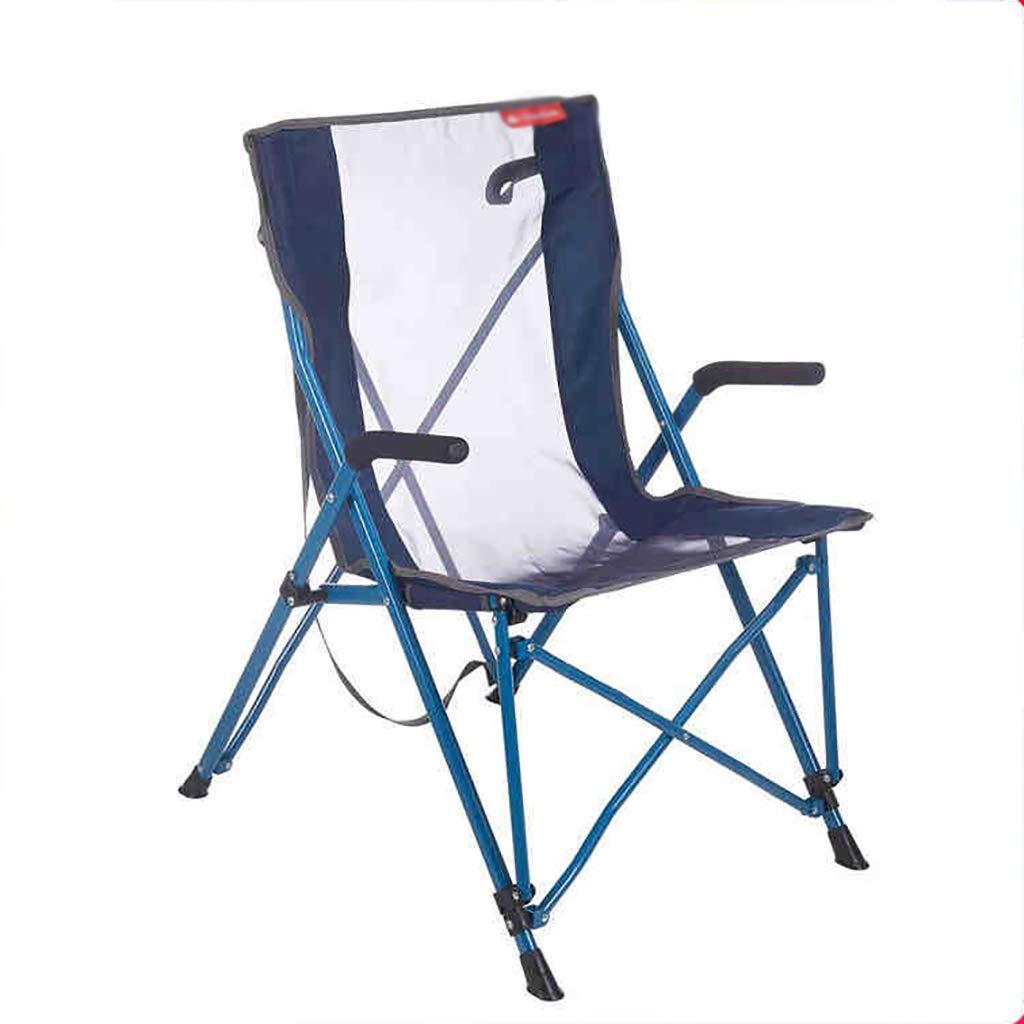 LLRDIAN Outdoor Camping Klappstuhl Sessel atmungsaktiver bequemer Stuhl