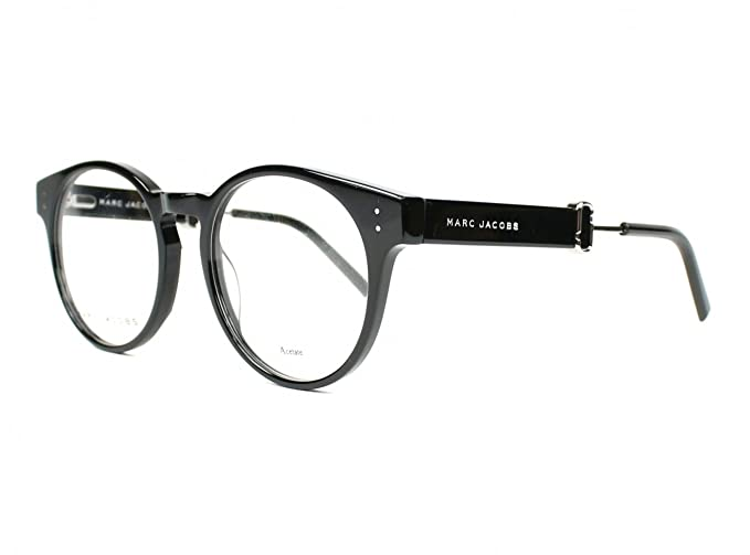 293746ef2a Image Unavailable. Image not available for. Colour  Optical frame Marc  Jacobs Acetate Shiny Black ...