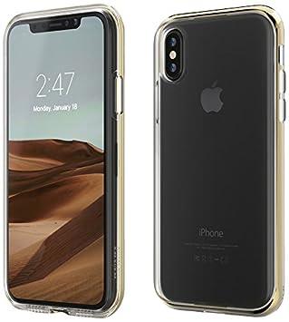 60ffe0f1f0 motomo iPhone XS/X ケース INFINITY CLEAR CASE ゴールド(モトモ インフィニティ クリアケース)