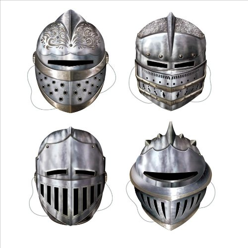 Beistle Knight Masks ()