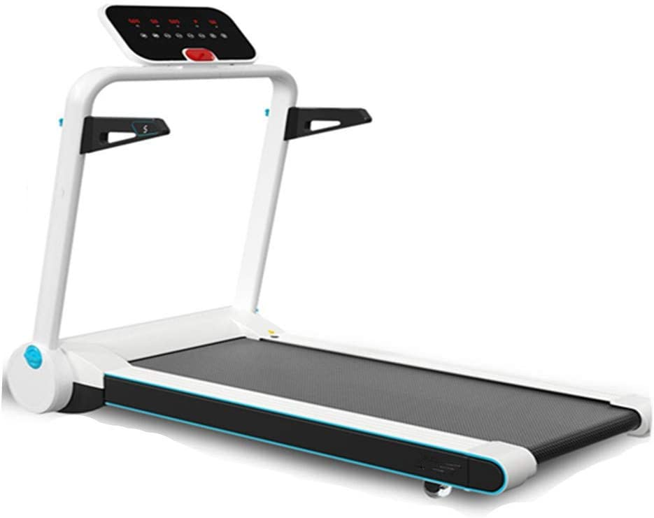 CffdoiPBJI Folding Ttreadmill, Smart Home Treadmill, Multifunctional Ultra-Quiet Mini Walking Machine, Electric Folding Small Fitness Equipment, Stereo Surround Speakers