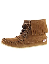 SoftMoc Women's Fringe Bootie Moccasin With Memory Foam