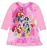 Disney Princess Girls Long Sleeve Nightgown Pajamas