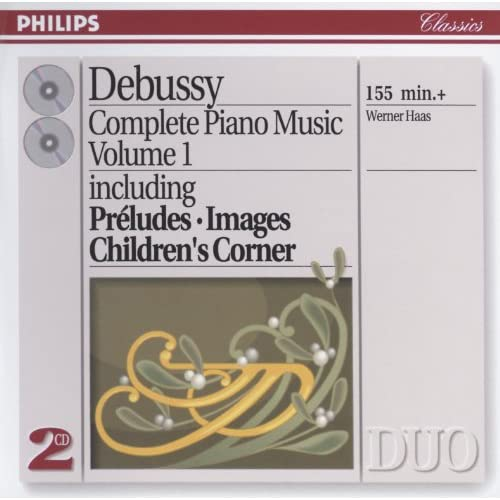 Debussy: Piano Works Vol.1 (2 CDs)
